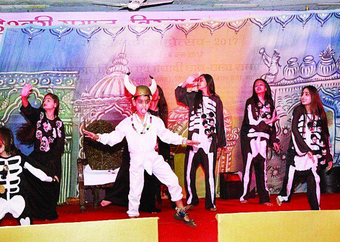 नृत्य नाटिका में दिखी भक्ति और शक्ति