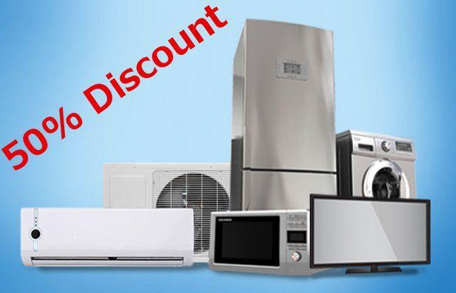 TV, फ्रिज और AC खरीदने का शानदार मौका, कंपनियां दे रही 50% तक छूट