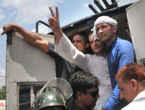 सांसद कमलनाथ को पुलिस ने लिया हिरासत में