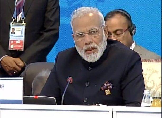 SCO : पीएम मोदी का आतंकवाद पर प्रहार, मानवता का दुश्मन बताया