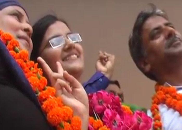 बाराबंकी में फिर छात्राओं ने लहराया परचम