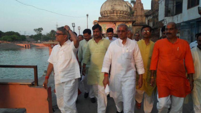 योगी सरकार की इस योजना से अब अयोध्या में निरंतर घाटों से होकर बहेगी सरयू की धारा