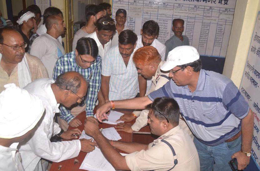 सिंधिया की गिरफ्तारी से नाराज कांगे्रसि