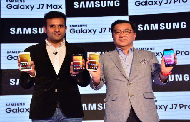 सैमसंग ने गैलेक्सी J7 pro, J7 Max लांच किए, जानें कब से बिक्री के लिए उपलब्ध होंगे