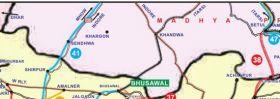 इंदौर-मनमाड़ रेलमार्ग का नक्शा जारी