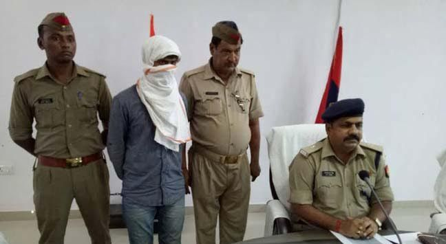 पुलिस मुठभेड़ में डी-16 गैंग का इनामी बदमाश गिरफ्तार
