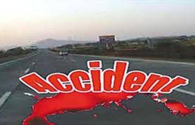 सड़क दुर्घटना में 1 की मौत
