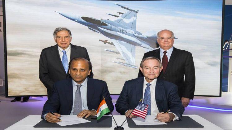 मेक इन इंडिया: टाटा भारत में बनाएगा F-16 लड़ाकू विमान