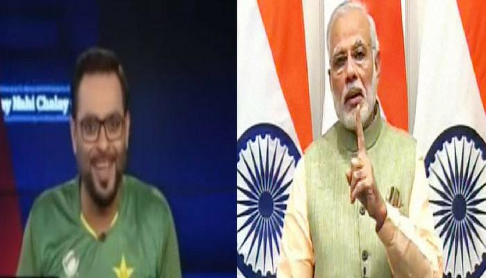 जीत की खुमारी में मर्यादा भूला पाकिस्तानी एंकर, प्रधानमंत्री नरेंद्र मोदी को दे डाली डूब मरने की नसीहत!