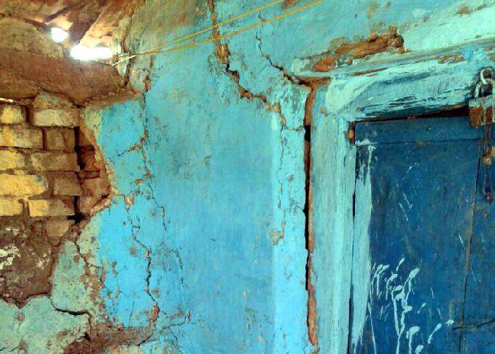 गांव में हुआ खतरनाक धमाका, फट गई मकानों की दीवारें, दहल गए लोग