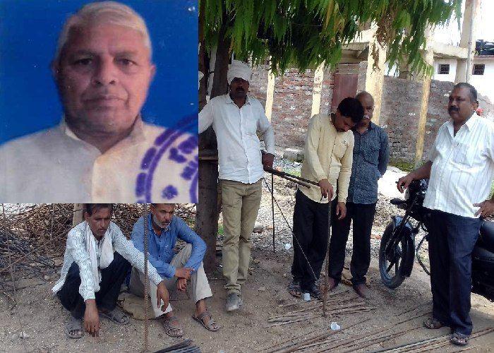 फसल के साथ जले अरमान, कर्ज में डूबे किसान ने की आत्महत्या,देखें वीडियो