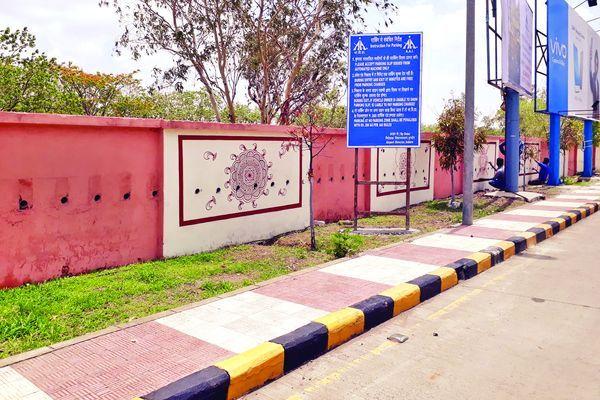 एयरपोर्ट की दीवारों पर झलकेगी मालवा की संस्कृति