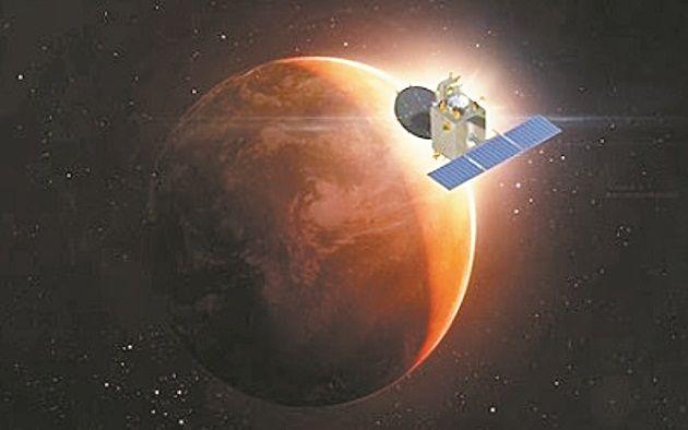 मंगलमिशन को 1 हजार दिन पूरे, अभी भी ठीक काम कर रहा मंगलयान
