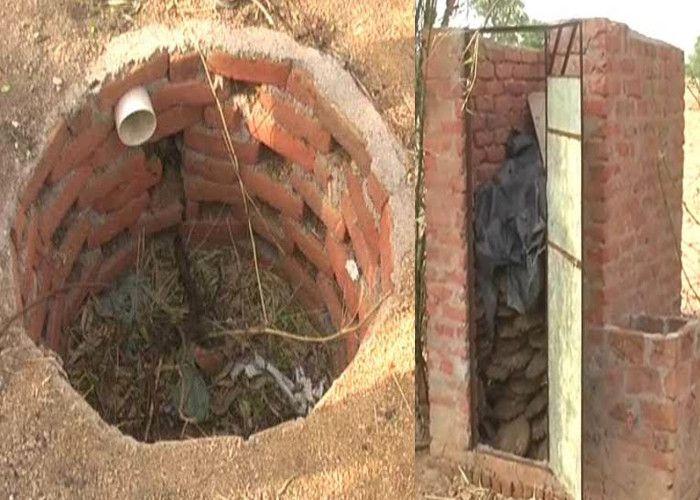 आदर्श गांव में बने शौचालयों का हैरान करने वाला सच आया सामने