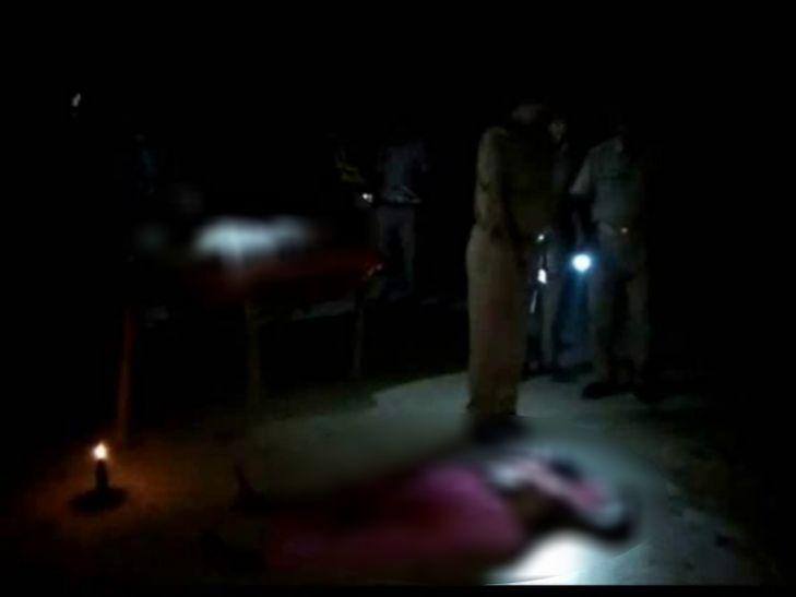 कुशीनगर में कुटी में सो रहे सन्यासी पति-पत्नी की निर्मम हत्या