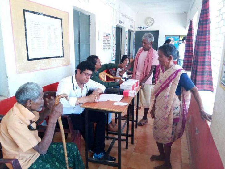 छपरवा में 6 व तिलईडबरा में 4 टीबी के संदेहास्पद मरीज मिले