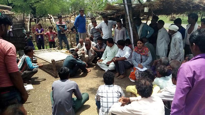 किसान की मौत से भड़का मीणा समाज, आंदोलन और चक्काजाम की चेतावनी