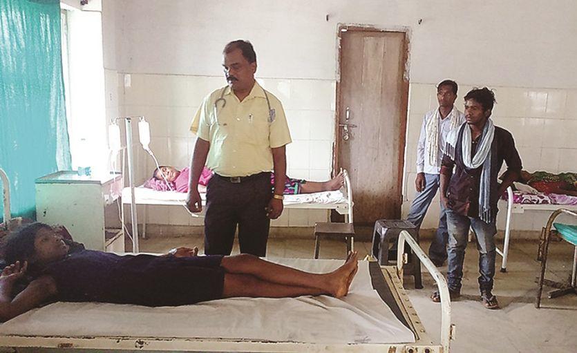 डायरिया की चपेट में आकर दो ग्रामीणों की मौत