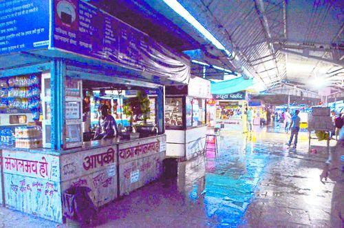 चार घंटे अंधेरे में डूबा रहा नागदा रेलवे स्टेशन