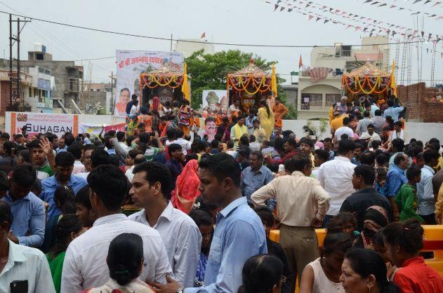 Live: सीएम रमन ने खींचा महाप्रभु का रथ, जयघोष से गूंज उठी राजधानी