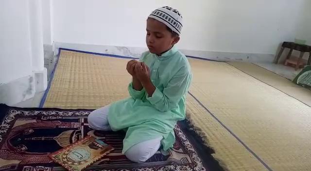 नौ साल के फरहान ने पूरे महीने रोजा रखकर की अल्लाह की इबादत