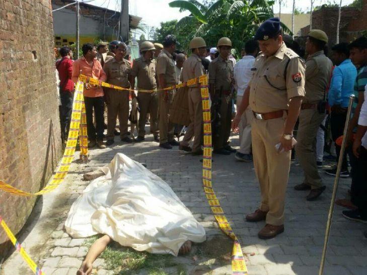 BREAKING: ईद के दिन पीस पार्टी के नेता Pampam Pathak की गोली मारकर हत्या
