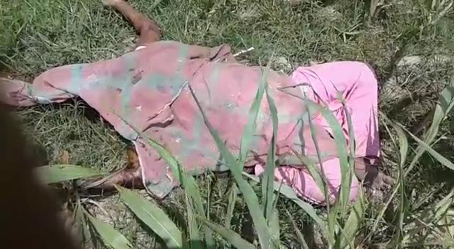 नवविवाहिता की हत्या के बाद शव को तेजाब से जलाया