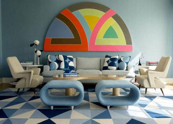 जियोमेट्रिक डिजाइन से दें घर को न्यू लुक