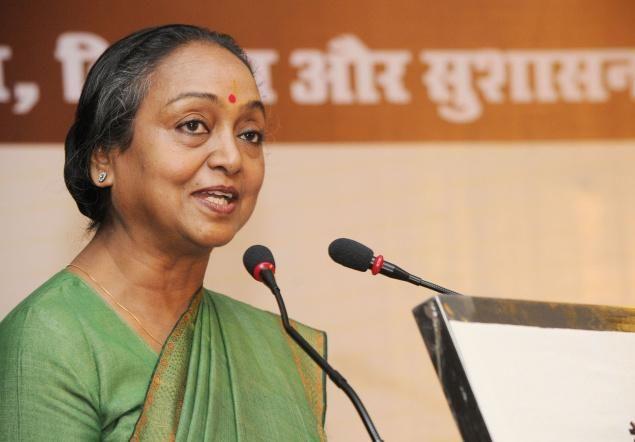 INTERVIEW:राष्ट्रपति चुनाव को 'दलित बनाम दलित' बनाने से है मीरा को आपत्ति