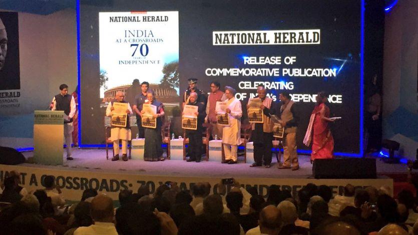 नेशनल हेराल्ड की वेबसाइट लांच, विदेश से लौटते ही राहुल को मिला कोर्ट का नोटिस