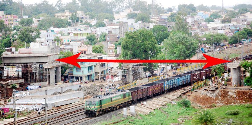 रेलवे चंद रोज में शुरू कर देगा आरओबी का अपने हिस्से का काम
