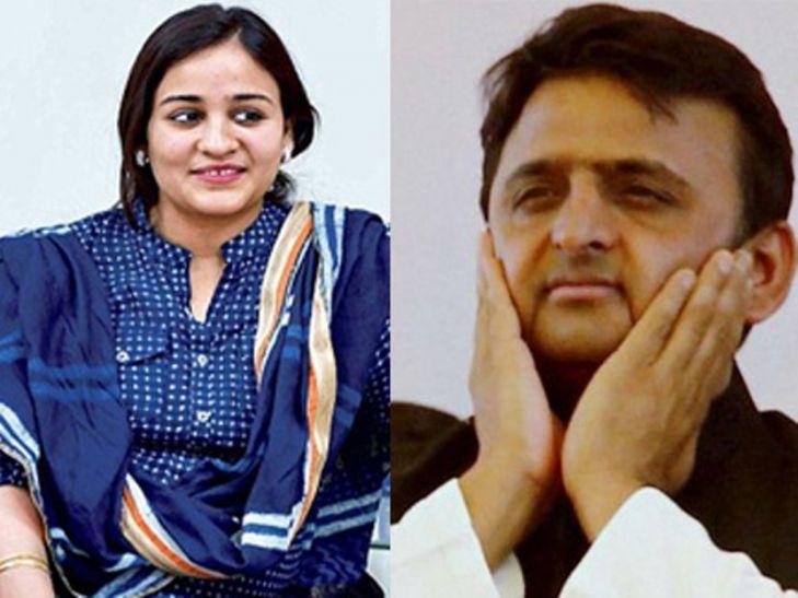 Breaking अपर्णा की वजह से विवाद में घिरे Akhilesh Yadav