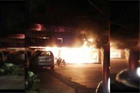 पंजाब: फाइनेंशयल कारपोरेशन के दफ्तर में लगी आग,भारी नुकसान