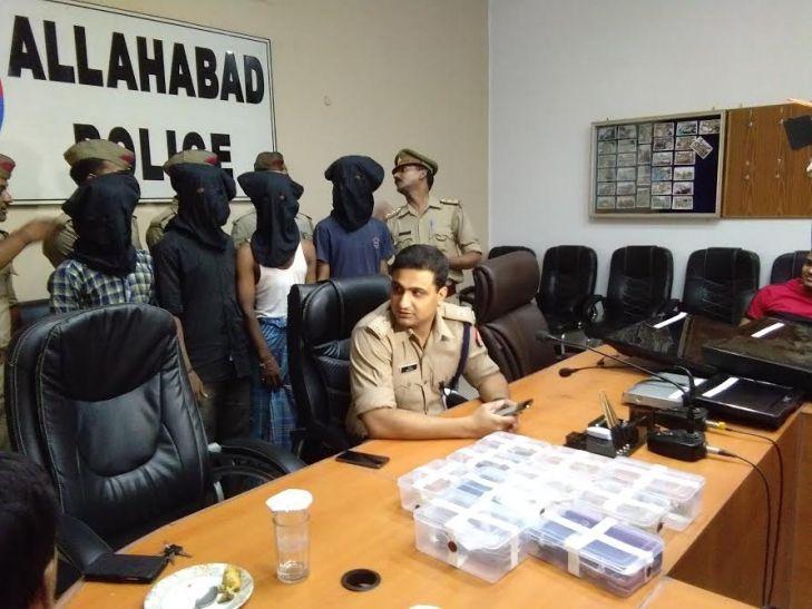 रेकी कर चोरी करने वाले गिरोह के चार सदस्य गिरफ्तार