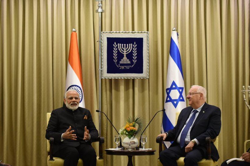 LIVE: I फोर I यानि इंडिया फोर इजराइल - मोदी