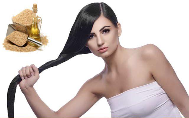 तिल का तेल रोकता है बालों की सफेदी