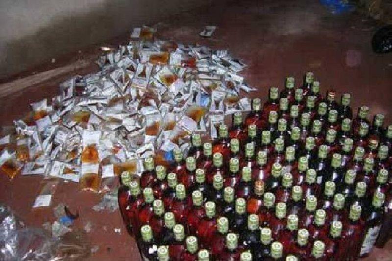 कुटीर उद्योग है देवारा में अवैध शराब का कारोबार