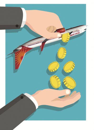 एयर इंडिया को टुकड़ों में बेचने की तैयारी कर रही है सरकार