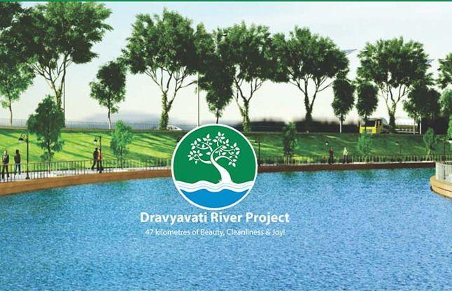द्रव्यवती नदी सौंदर्यकरण: ड्रीम प्रोजेक्ट की अगले साल 15 अगस्त को लोकार्पण!