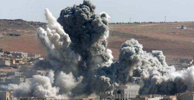 सीरिया में अमरीकी सेना के हवाई हमले में 8 नागरिकों की मौत