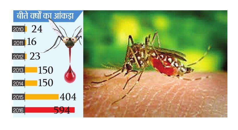 नहीं रुक रहा डेंगू पॉजिटिव मरीजों के मिलने का सिलसिला