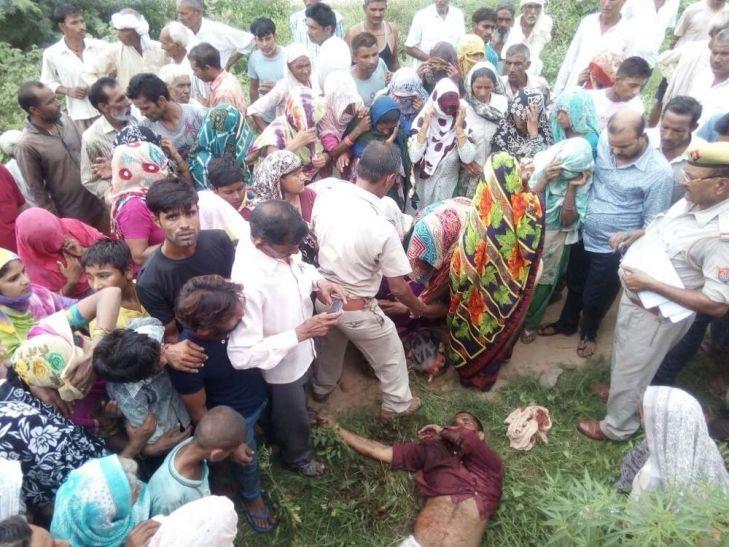 योगी राज में नहीं रुक रहा खूनी खेल, बुलंदशहर में दिनदहाड़े जो हुआ, उससे पूरे इलाके में फैल गई दहशत