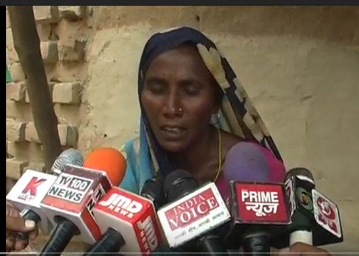 जब नहीं रहा पुलिस का सहारा तो पुत्री की सलामती के लिये मंदिर में मांग रहे मन्नत