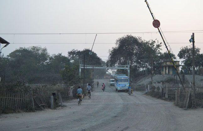 रेलवे ट्रैक बदलने कोतरा रोड फाटक लगतार दो दिन 5 घंटे रहेगा बंद