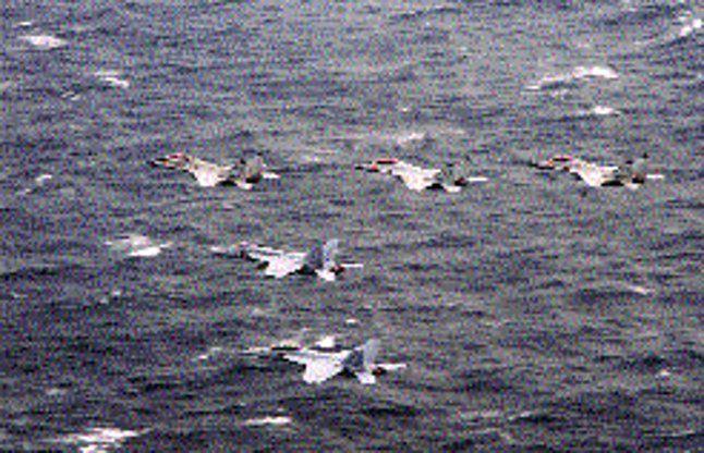 बंगाल की खाड़ी में दिखा तीन देशों की नौसेना का संयुक्त पराक्रम