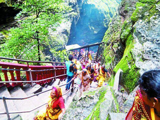 नागद्वारी यात्रा : मप्र. में मिनी अमरनाथ यात्रा