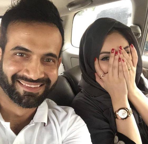 इरफान पठान शेयर की पत्नी के साथ तस्वीर, भड़के यूजर्स