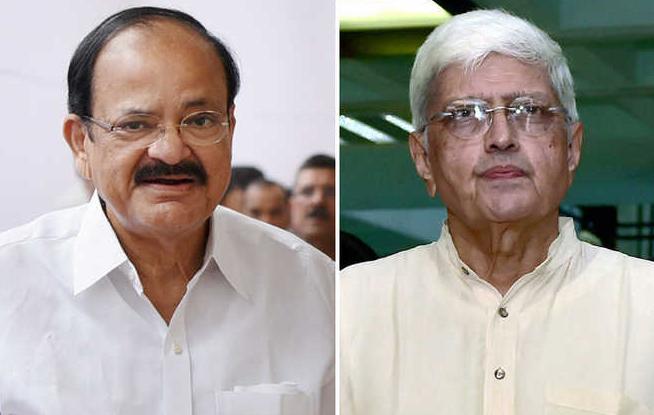 उपराष्ट्रपति चुनाव: किसान का पुत्र v/s गांधी का पोता