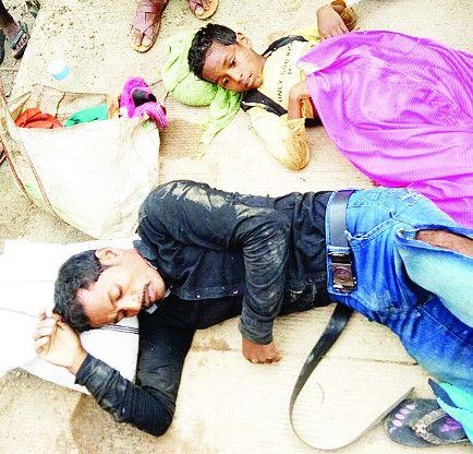 मासूम बच्ची पहिये के नीचे, पिता गंभीर तो भाई ने अस्पताल में तोड़ा दम, ट्रक चालक की गलती से बिखर गया पूरा परिवार