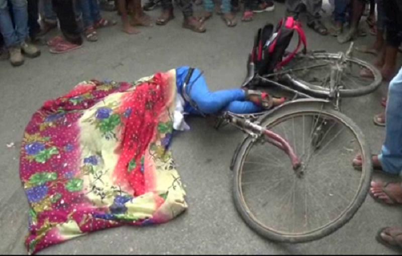 इलाज के अभाव में छात्रा ने दम तोड़ा, न पुलिस पहुंची न एंबुलेंस